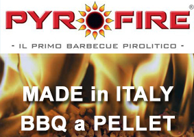 Pyrofire - il primo BBQ a pellet made in Italy