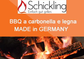 Schickling BBQ a legna made in Germany