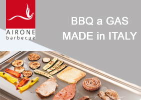 Airone - BBQ a Gas made in Italy